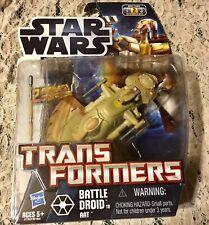 NIP STAR WARS SKILL 2 TRANSFORMERS BATTLE DROID TO ATT 2 MODES 2011