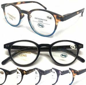 S.889 High Quality Reading Glasses/Spring Hinges/Vintage Tortoiseshell Designed