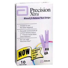 Precision Xtra Blood B-Ketone Test Strips 10 each