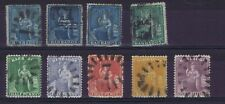 DD535 BARBADOS Britannia an useful collection of unchecked used stamps