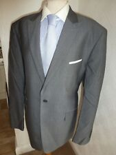 MENS TED BAKER ELEVATED GREY WOOL SUMMER SUIT JACKET 44 TROUSERS WAIST 38 LEG 30