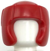 Rojo De Lego Minifig pelo mohawk Headgear Nuevo