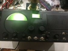 VINTAGE HALLICRAFTERS S-40B HAM RADIO RECEIVER WITH LED DIAL LAMPS & MANUAL