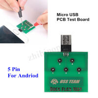 Charging Dock Flex Tester Repair Micro B 5-Pin PCB Test Board for Android