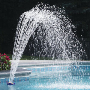 Accessory Summer Waterfall Above Ground Pool Fountain Flower Sprinkler Sprayer;