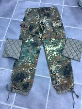 New Ksk Combat Trousers Pants German Army Pants Flecktarn 32 W Special Forces