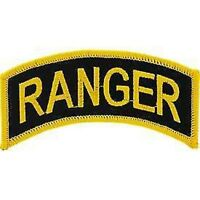 ARMY RANGER TAB ROCKER EMBROIDERED MILITARY PATCH