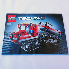 LEGO Istruzioni Originali - Instructions - SET 8263 - Snow Groomer (2009)