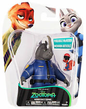 Zootopia Officer McHorn & Safety Squirrel Poseable Action Figures 2 Pack New