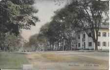 Main Street, Lenox MA Handsome Vintage Postcard used 1910