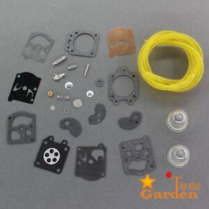 Carburetor Repair Rebuild Kit For Craftsman 2.0 WA19A WT3 WT20 WT309 Walbro Carb