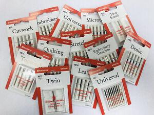 Genuine HUSQVARNA VIKING Sewing Machine Needles