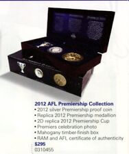 2012 AFL Premiership collection. RAM 1Oz Silver Proof coin, Medallion, The Cup