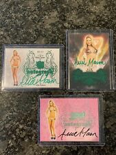 Benchwarmer Allie Mason Lot Of Autos Green And Pink Sin City Hollywood Archive
