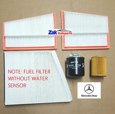 Mercedes CLS Class CLS320 CDI (05-10) Service Kit Oil Air Fuel Pollen Filters