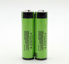 2x Panasonic NCR18650B 3.7V 3400mAh 18650 Rechargeable Li-on Battery Protected