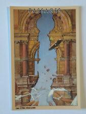 Carte Postale Schuiten n°4 , Passages ,( Les Cités Obscures) , 1993