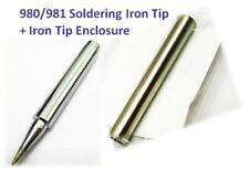 Soldering Iron Tip Enclosure 980-T-B Replacement for Hakko 980/981