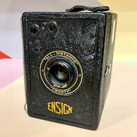 Houghton-Butcher All-Distance Twenty Ensign Box 120 Film Camera – Good condition