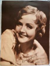 NANCY CARROLL HOLLYWOOD STUDIO PHOTOGRAPH PRINT POSTER VINTAGE 1930S SEPIA TONE