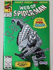 WEB OF SPIDER-MAN #100 (1993) NIGHTWATCH 1ST APPEARANCE SPIDER-ARMOR! FOIL COVER