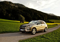 2013 MERCEDES ML NEW A3 CANVAS GICLEE ART PRINT POSTER FRAMED