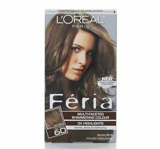 L'Oreal Feria Multi-Faceted Shimmering Color, 60 Light Brown, 1 ea (Pack of 6)