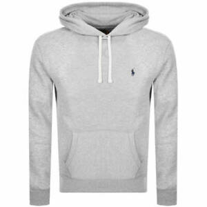 NEW Polo Ralph Lauren embroidered logo hoodie - Grey - RRP £135
