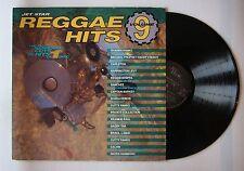 Reggae Hits Volume 9 UK LP 1991 Shabba Ranks Barrington Levy Sanchez