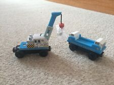 thomas and friends wooden railway Ice Crane And Cargo Car Learning Curve