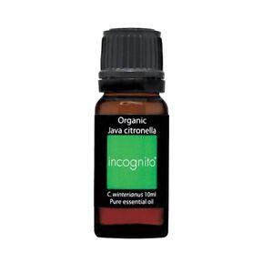 Incognito Organic Citronella Oil 10ml
