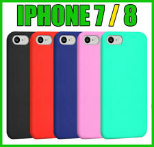 Cover per Apple iPhone 7 / 8 Custodia in Silicone + Pellicola di Vetro Temperato