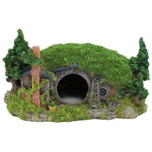 Aquarium Decoration accessories Hobbit House Fish Tank Ornament Rockery