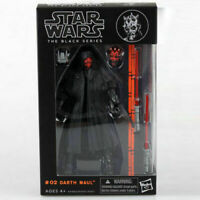 """6"""" Darth Maul:Star wars the Black Series Action Figure Model Collection Gift"""