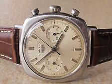 RARE VINTAGE HEUER CAMARO CHRONOGRAPH CAL.VALJOUX 92 MENS 37mm SWISS MADE