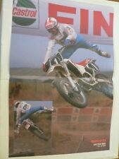 A500-JAN POSTEMA YAMAHA MX MOTOCROSS 1989 ? POSTER NO 1
