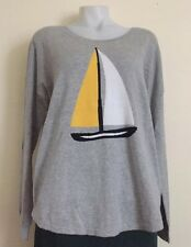WOMENS SWEATER BLOUSE SIZE XL GAP KNIT TOP LONG SLEEVES%100 Cotton NWT $49