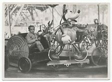 U009 Photographie vintage Originale Fête foraine manège Mickey Forain