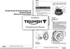 Triumph Rocket III Classic Touring Service Workshop Repair Shop Manual 3 Factory