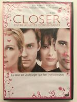 CLOSER Entre adultes consentants DVD NEUF SOUS BLISTER Julia Roberts, Jude Law