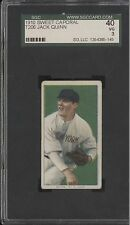 1910 T206 JACK QUINN SGC 40 Vg 3 ~New York Yankees