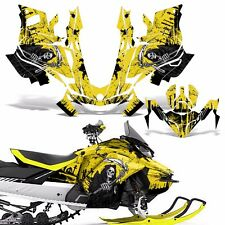 Ski-Doo 850 Renegade Summit Decal Graphic Kit Sled G4 Snowmobile Wrap REAP YLLW