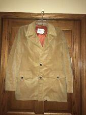 Vtg H Bar C Ranchwear Men Corduroy Coat Cowboy Western Jacket