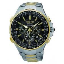 Seiko GENTLEMAN'S Seiko Coutura Solar Zweifarbig Radio Sync Watch