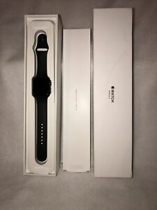 Apple Watch Series 3 Black 42 mm Black Gray Case