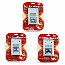 2pcs  Riddex Plus Pest Repeller As Seen on TV Aid for Rodents Roaches Ants
