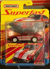 Matchbox Superfast '82 Datsun 280ZX New In Package Die Cast 1:64 True Grip Tires