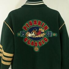 Mickey Mouse Varsity Jacket Vtg Disney Mickey's Pigskin Classic Maulers Wool L