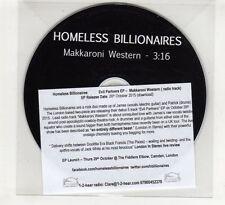 (HE593) Homeless Billionaires,  Makkaroni Western - 2015 DJ CD
