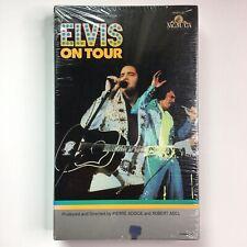 Elvis Presley - On Tour (VHS, 1972) Biography Live MGM Big Box Rare
